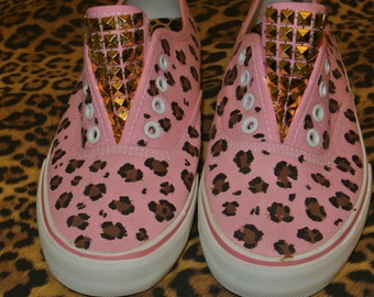 Pink Leopard slippers