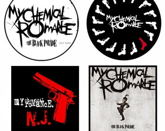 My chemical romance,patch,badge,plate.