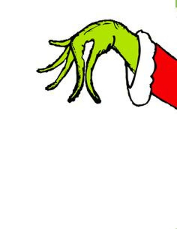 SVG How the grinch stole christmas grinch hand cut by ...