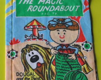 Vintage 1968 Dean's rag book Magic Roundabout 'Dougal and the Thing' Serge Danot 6869 FREE SHIPPING