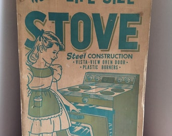 Vintage Childs Play Stove