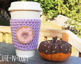 I Love Donuts Cozy - Pink