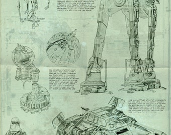 Star Wars Blueprint - Hoth Edition