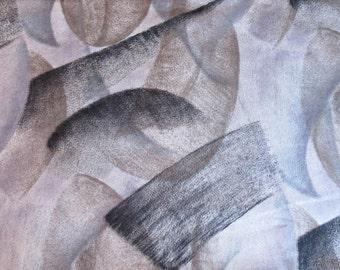 """Nancy Crow fabric 2 1/4  yards - 82"""" x 43"""" - plus one yard 36"""" x 43""""- Vintage 1980s Quilting Cotton ~ quilting fabric ~ cotton fabric ~"""