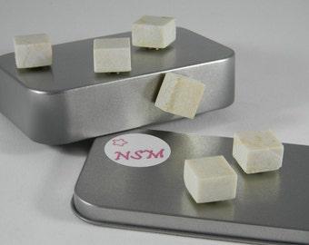 Natural Stone magnet set - Home Decor magnets - office decor - Magnet - Set 009