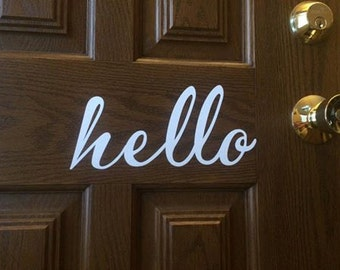 Hello door greeter