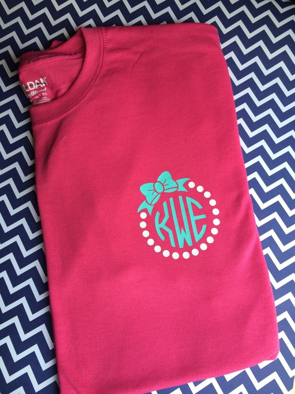Set Of 2 Classic Monogram Shirts Womens Monogram Clothing