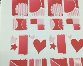 Fresh Pink Planner Stickers