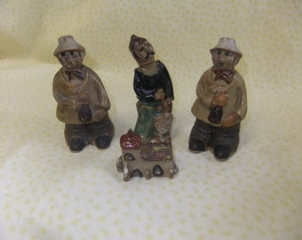 A Collection of Tremar Figurines