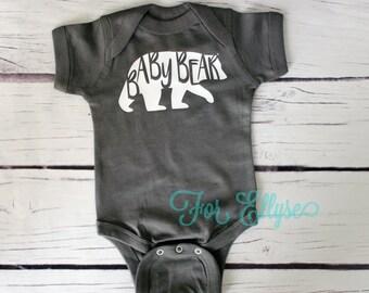 Baby Bear bodysuit, one piece infant onesie