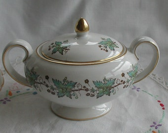 Myotts China Lyke Lidded Sugar Bowl