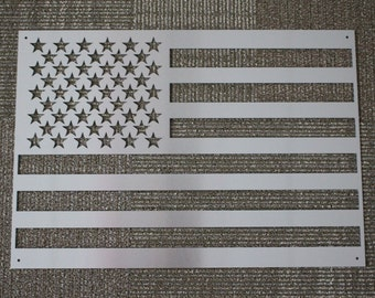 Metal Sign: American Flag