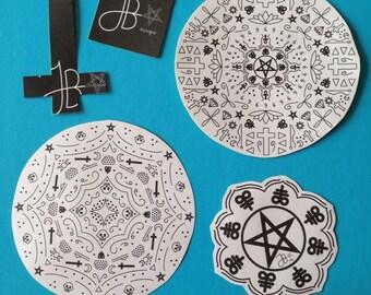 5 sticker pack
