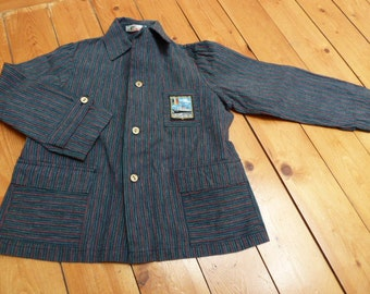 1950s french vintage summer weight blazer/jacket boys or girls
