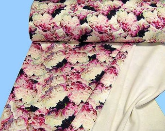 Printed JERSEY - double weave... 2nd choice (507629)