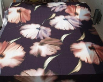 1.25 m JERSEY sea of flowers Brown (500018) - 2nd choice!