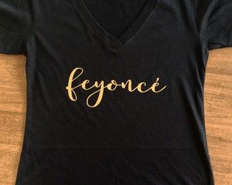 Feyonce tank or tee - Fiance tee- Bride to Be - Engagement Tee Shirt