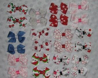 Half pinwheel bow sets