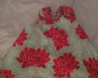 Baby toddler dress or top. REVERSIBLE.