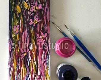 original abstract painting, abstract art, acrylic on canvas, original acrylic painting, small canvas, original abstract painting, small art