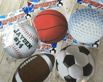 Sports Magnet Etsy - Custom soccer ball car magnets