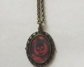 Gears of War Bronze Cameo Necklace