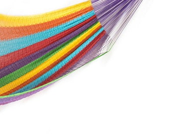 Hand woven traditional hammock