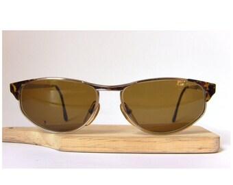Castellani Italy Eye Glasses Frame Oval Lenses Eyewear Eyeglasses Gold Plated Medium to Large Size FREE SHIPPING Him Men's