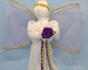 angel, angel ornament, cheap christmas decor, decorative angel, angel favor, purple angel, tree angel, angel for christmas tree, angel decor
