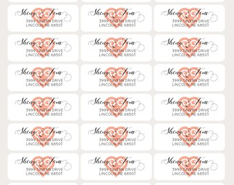 Hmong Address Labels - Hmong Wedding Labels - Hmong Return Labels