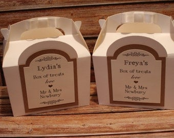 1 Personalised Snack Pack/childrens Treat/Hen Party Box