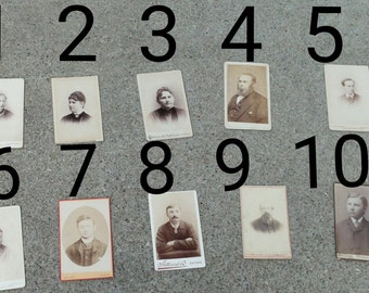 Various CDV Photos from the 1800s!