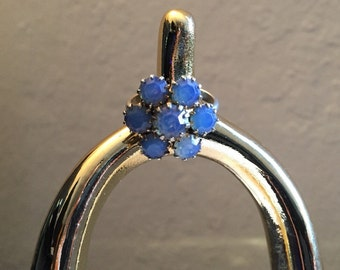 Vintage Opalescent Crystal Ring