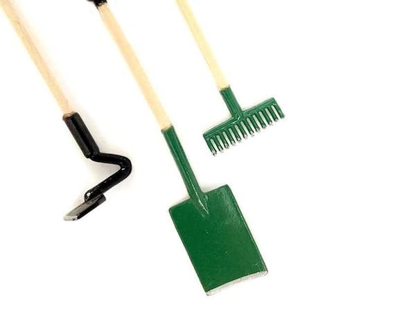 Miniature fairy garden tools miniature garden tools for Miniature garden tools