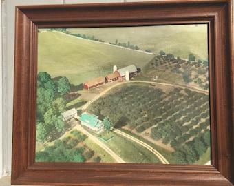 Vintage Door County Cherry and Dairy Farm