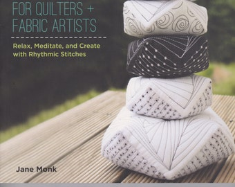 Tangle Stitches for Quilters and Fabric Artist