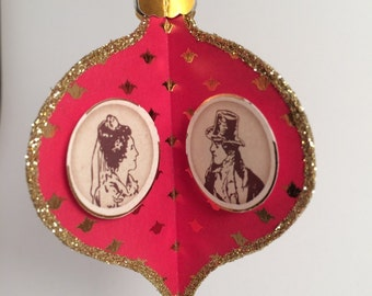 Jane Austen Christmas Ornament - Limited Edition