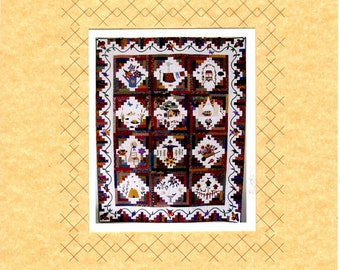 COUNTRY GARDEN Quilt Pattern Pack