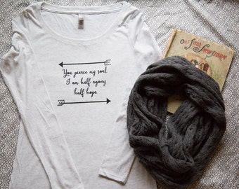Persuasion, Jane Austen Quote Shirt