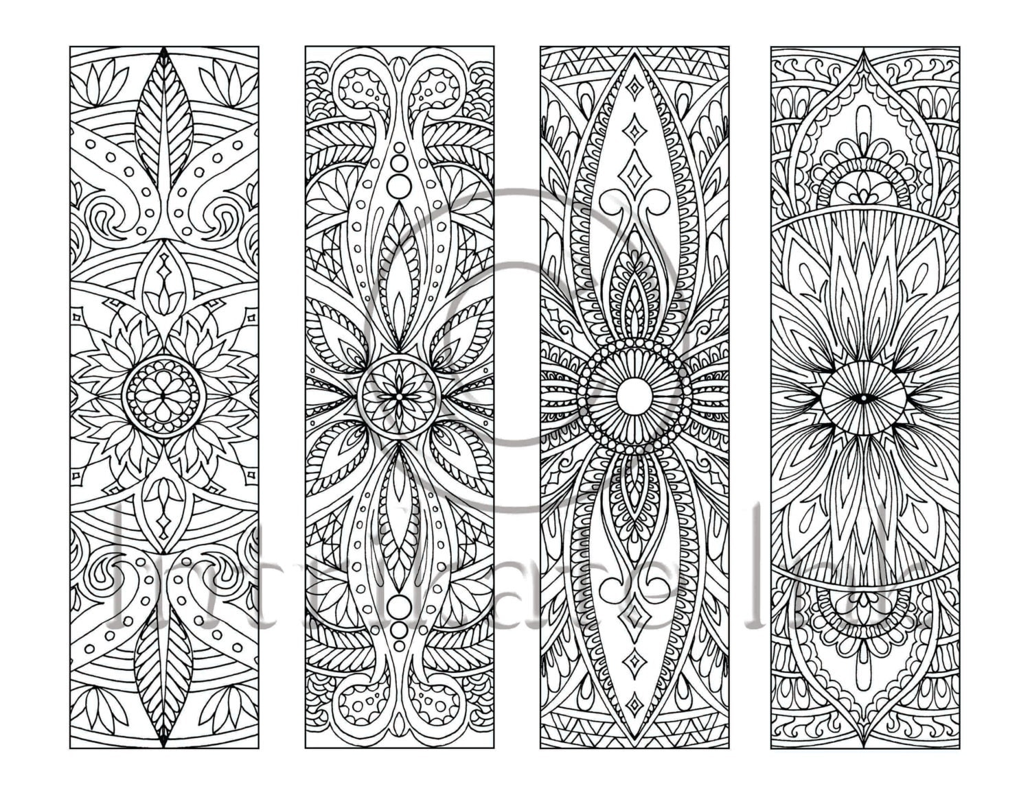 coloring pages bookmarks - photo#23