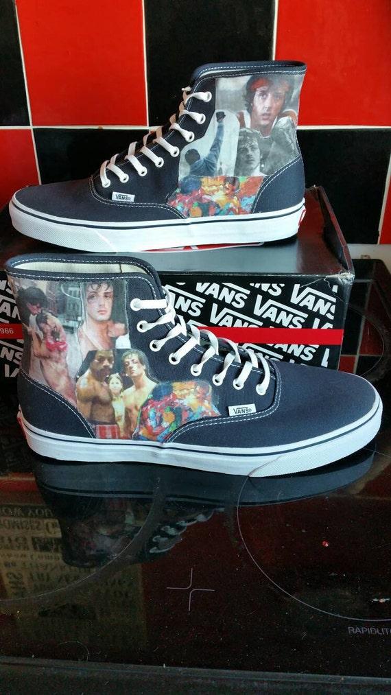 Rocky Balboa Vans Shoes