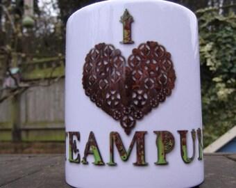 I Love Steampunk Mug