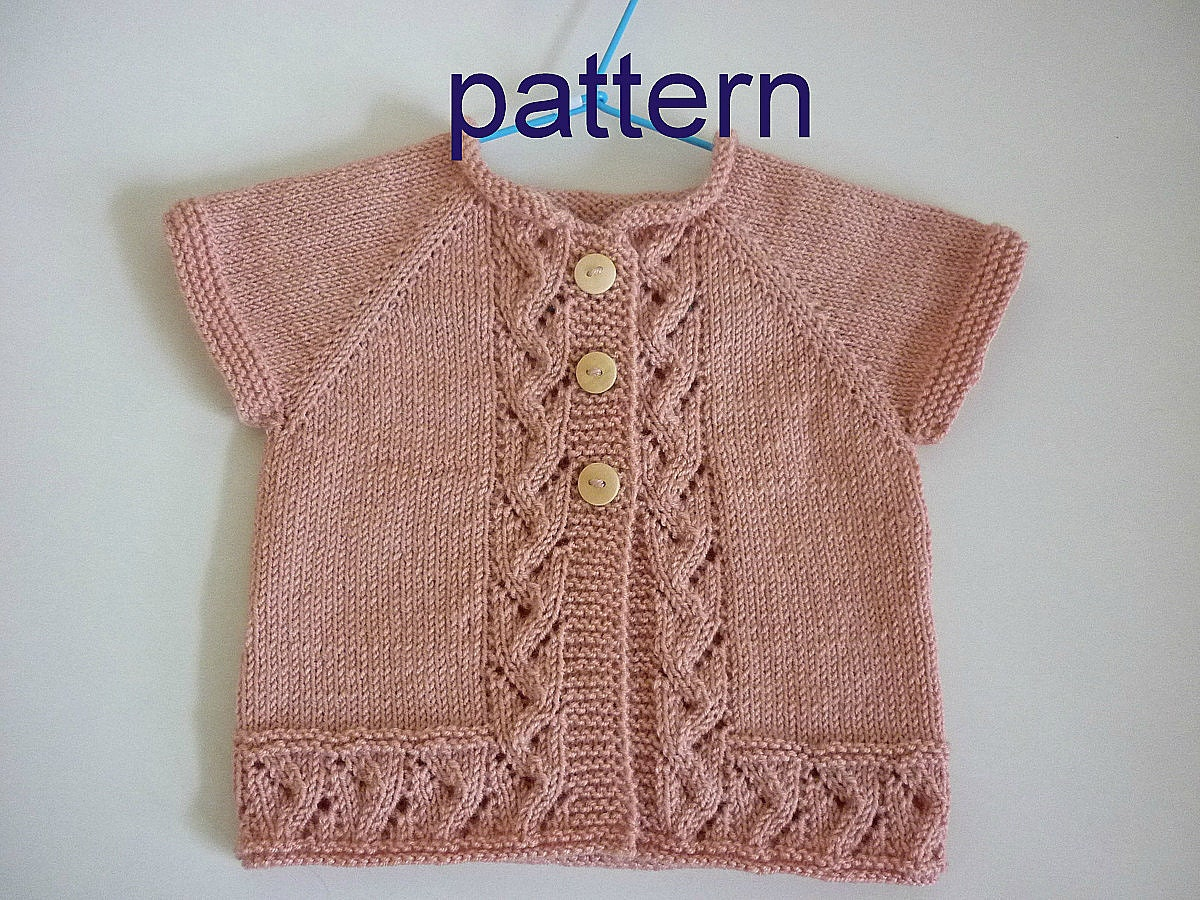 Toddler Knitted Sweater Vest Pattern : Baby kntting pattern.Pattern baby cardigan.Knitted baby cardigan,knit baby ve...