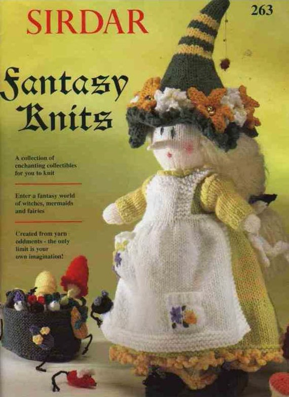 Sirdar Toy Knitting Patterns : Vintage fantasy doll patterns instant download by jockspatterns
