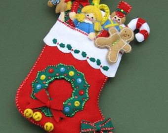 Christmas Surprises Christmas   Stocking