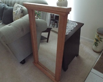 Custom Built Reclaimed Wood Mirror (Free Shipping in U.S.)
