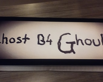 Ghost B4 Ghouls banner 7×18