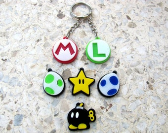 Super Mario Caracters - keychains