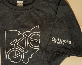 Ohio Cycling Tshirt