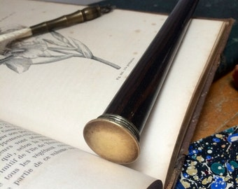 Magic wand in rosewood, Magic wand handmade, old french reclaimed and vintage rosewood stick for wicca, Wiccan, witchcraft and witch.